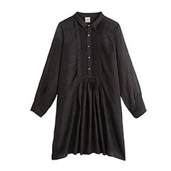 robe en soie noire