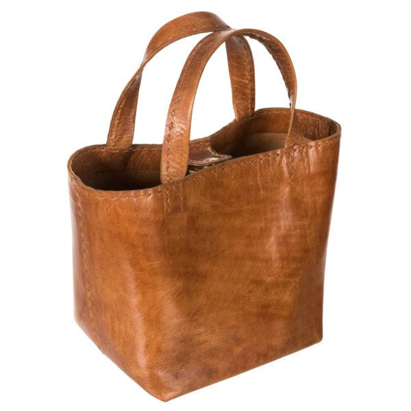 sac en cuir | Jeanne Voilier, créatrice soies de jour et bijoux précieux