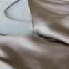 Haut en soie Mastic, Col. LOUISE | JEANNE VOILIER