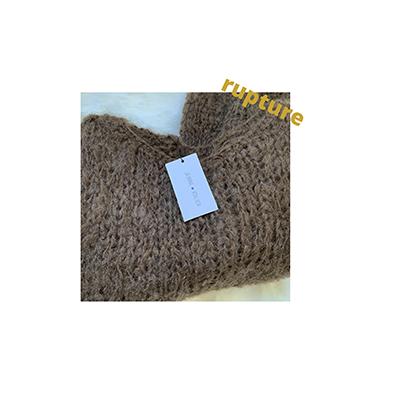 pull laine fait main Jeanne Voilier