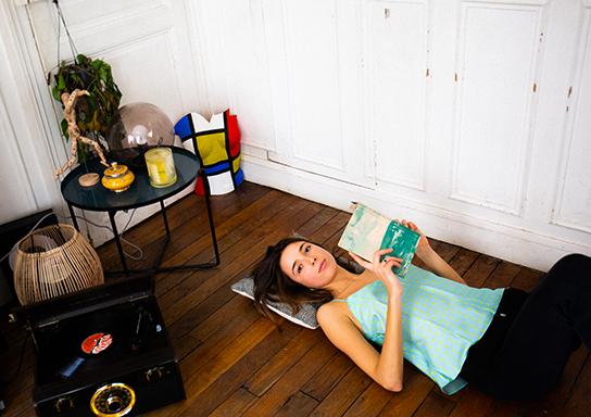 soies de jour, hauts et robes en soie | Jeanne Voilier par Michelle Houellebecq