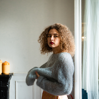 pull en pure laine collection mailles | Jeanne Voilier