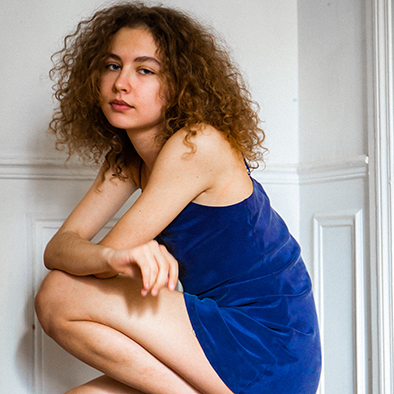 robe en soie Jeanne Voilier créatrice soies et bijoux précieux