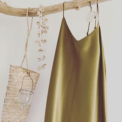 robe en soie Jeanne Voilier