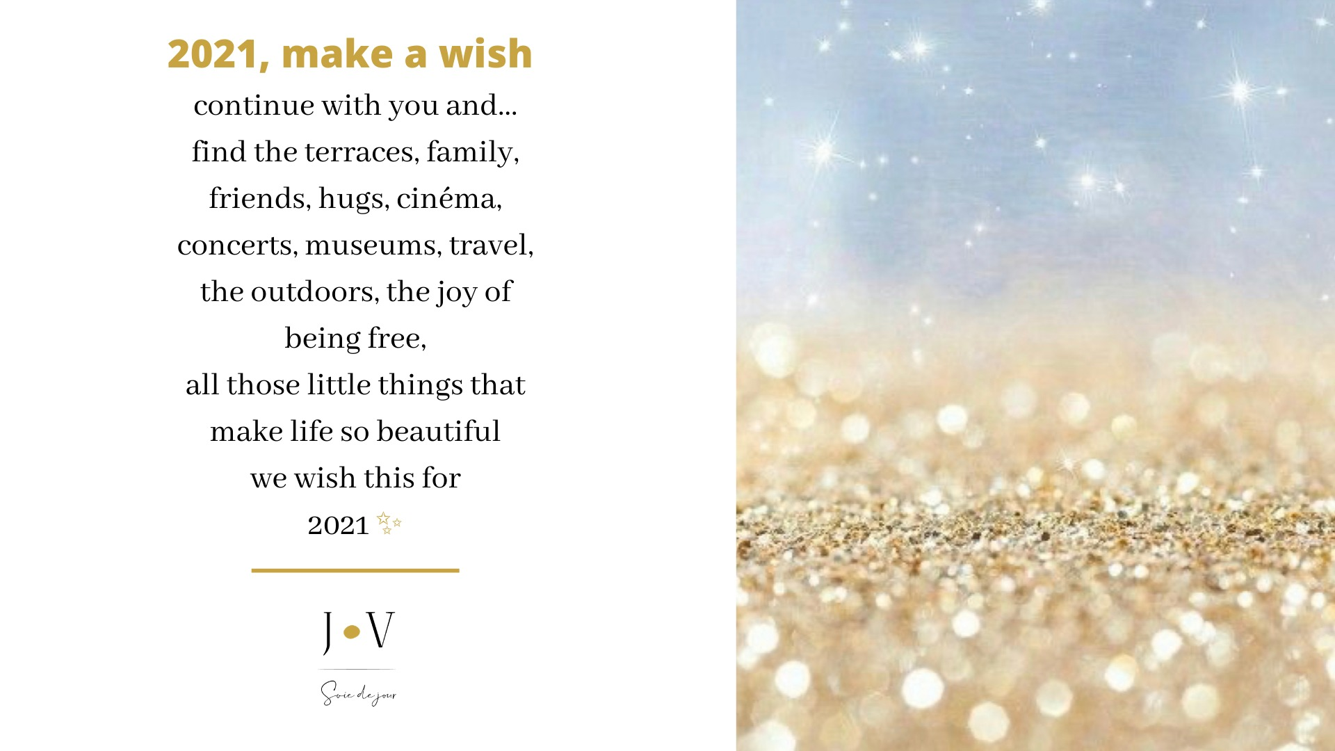 2021 make a wish | Jeanne Voilier