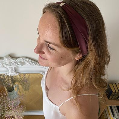 headband capsule éphémère Jeanne Voilier